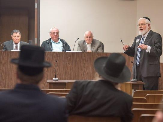 Meir Hertz, President of the Lakewood Tenants Organization,