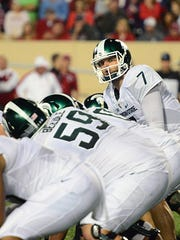 MSU quarterback Tyler O'Connor is taking abuse on social
