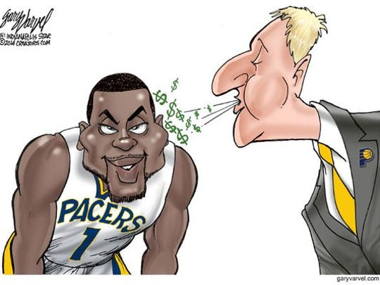 Larry Bird said he was stunned that Lance Stephenson didn't accept the five-year, $44 million offer from the Pacers.
