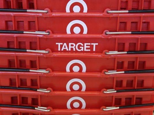 Target shopping baskets