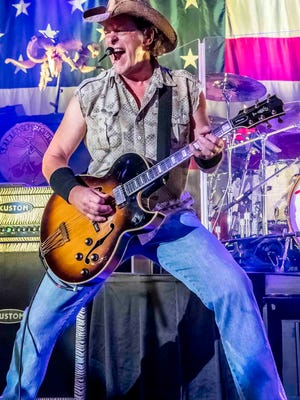 Ted Nugent will perform in Iowa three times in July.