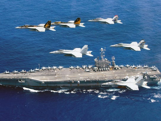 U.S.and China warships to participate in massive Pacific war games