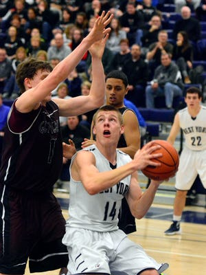 Kenton Meckley (14) and West York will host the War of the Roses Showcases this Saturday. The event features six games between teams from the Y-A League and Lancaster-Lebanon League. John A. Pavoncello photo