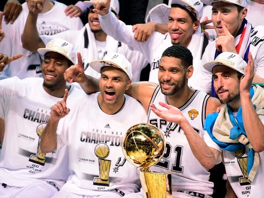The Spurs had the best record last season at 62-20 and went on to win the NBA title. But USA TODAY Sports' Adi Joseph has a different team finishing atop 2014-15 as he predicts every record. Flip through from worst to best.