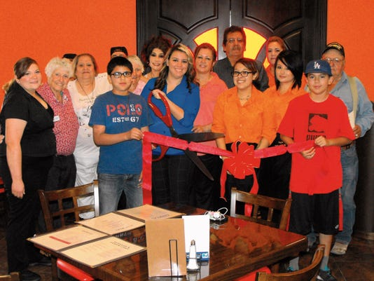 Submitted Photo   Yoya's Sports Bar & Grill received a visit from members of the Deming-Luna County Chamber of Commerce, welcoming the new business to the community at 1624 S. Columbus Road, next to Yoya's Market. The bar and grill features drink specials, steaks grilled to order and service with a smile.