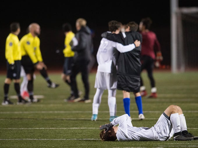 Fort Collins High School reacts to a 3-1 loss to Broomfield