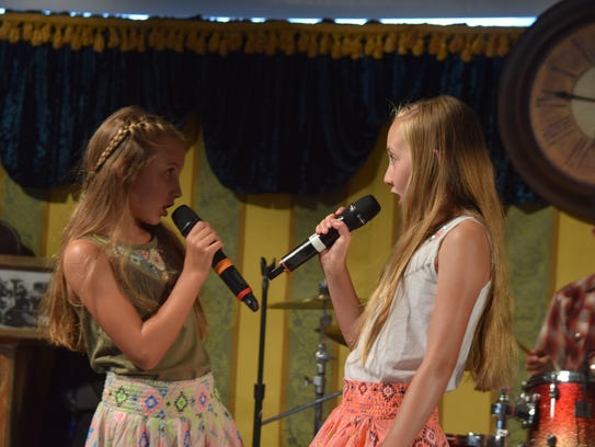 From left Avery and Alexa Roemer of A. Rae and the