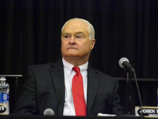 John P. Curley is seen iun this January file photo.