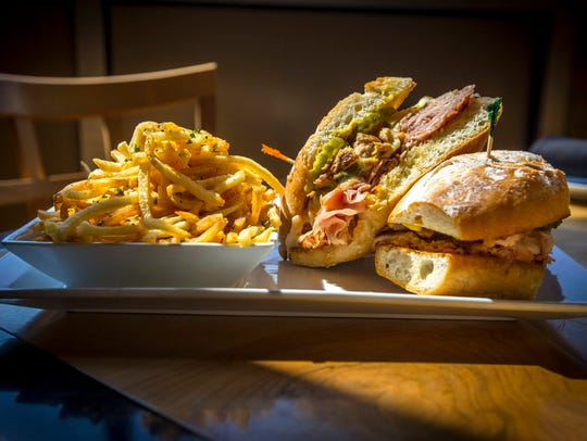 Cubano Sandwich with pomme frites at Trostel's Dish