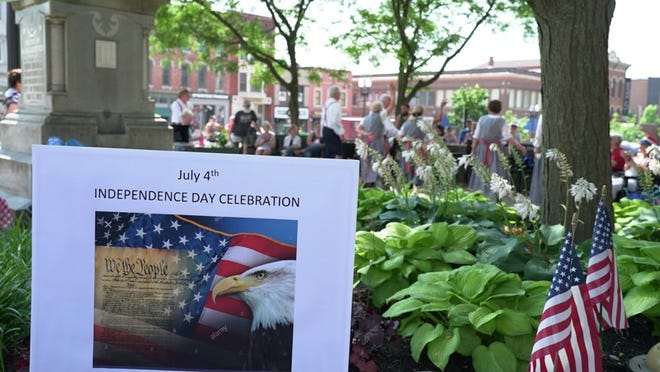 The Wayne County Patriots organization have an Independence Day celebration Saturday on the square in Wooster.