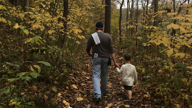 Gena Garrett and her family regularly venture to the great outdoors. She came up with the idea to hike on Black Friday from REI's #OptOutside campaign.