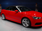 The fabric top for the new Audi A3 Cabriolet is lighter than a steel top and leaves more than 10 cubic feet of trunk space when down, much more than if Audi had used a steel top.