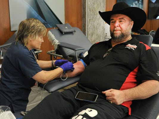 WF blood drive a 79 tornado reminder