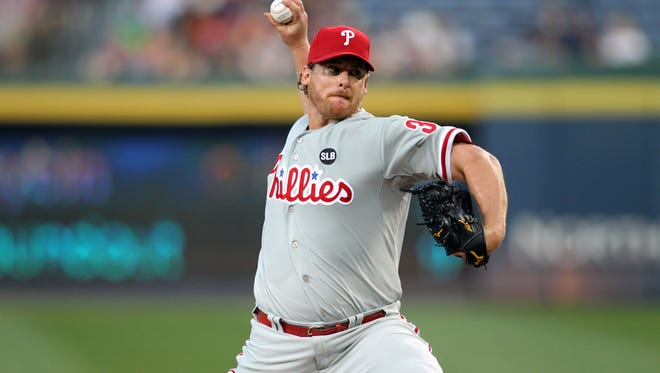 Phillies starting pitcher Chad Billingsley will be shut down for the next two weeks.