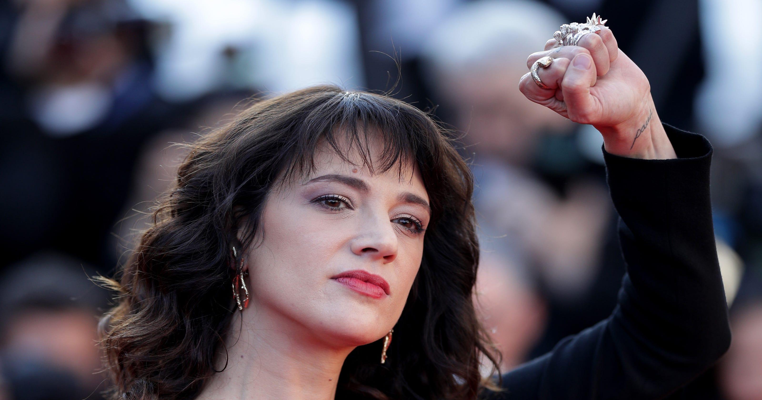 In Cannes, Asia Argento Blasts Weinstein, Warns Other -1763