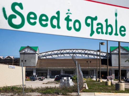 The Oakes Farms Seed to Table grocery store, as seen on Thursday, April 12, 2018, is targeted to open its North Naples location in late 2018.