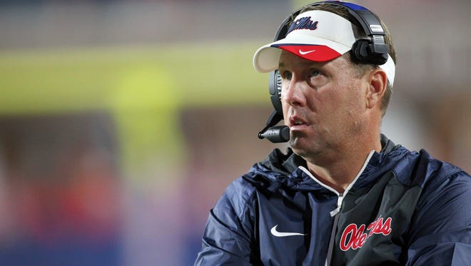 Ole Miss coach Hugh Freeze has been going through the process of staff changes in recent weeks.