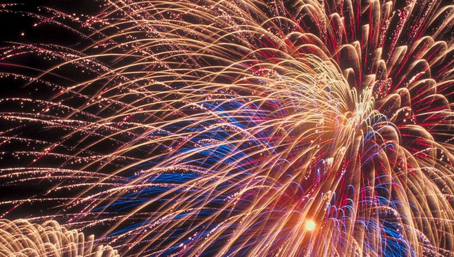 There will be three nights of fireworks shows in Northern Kentucky: 10 p.m. Thursday in Florence; dusk Friday in Edgewood and 10 p.m. Friday in Fort Thomas; and 10 p.m. Saturday in Independence.