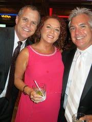 Pete Zanmiller, Richea Corbin and hubby, Shreveport City Councilman Mike Corbin, at Krewe Gemini Coronation.
