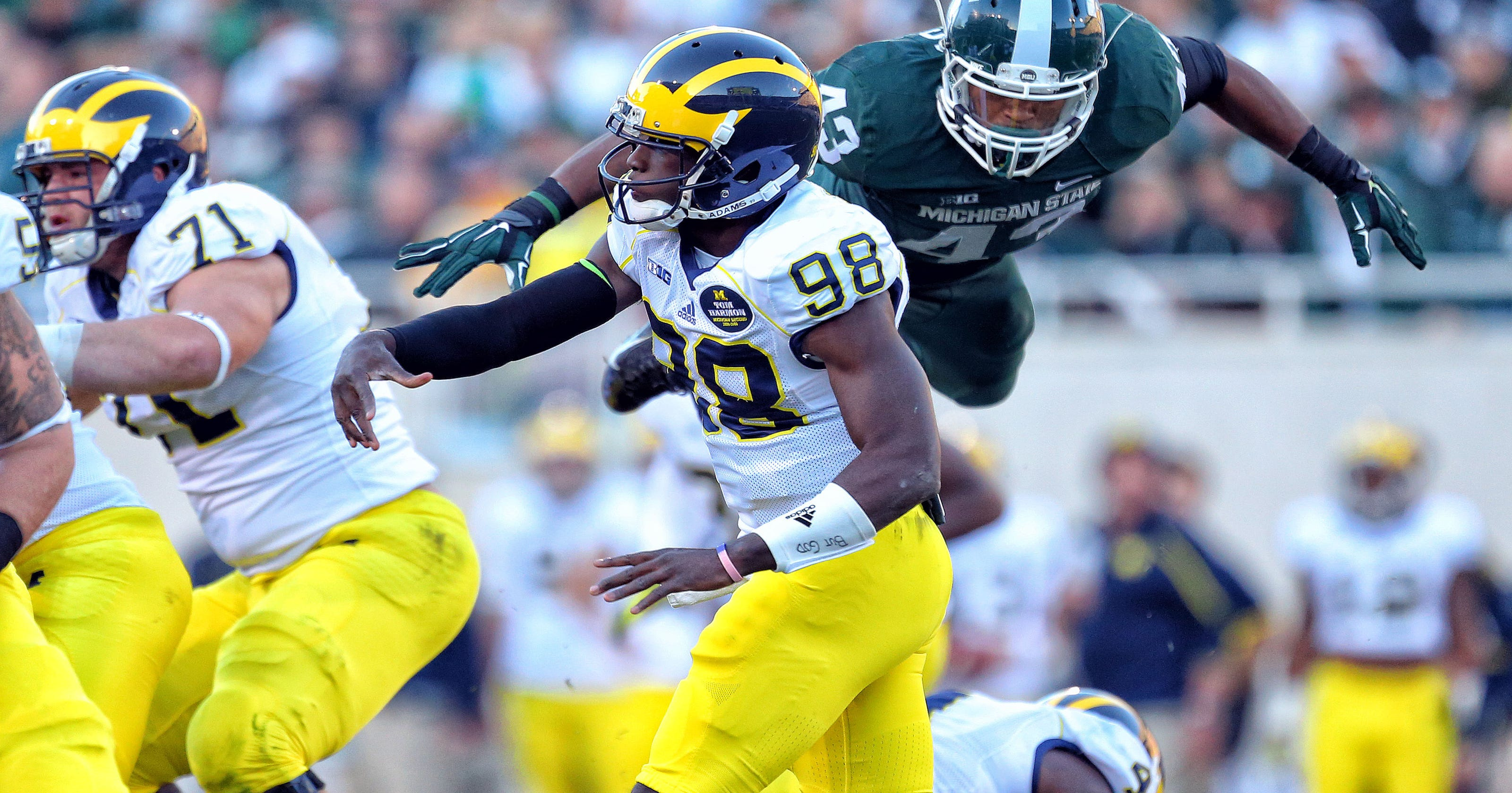 One-play return from injury has MSU linebacker Ed Davis ready for more