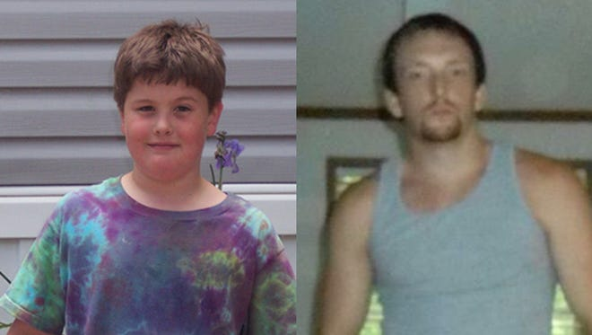 Family members identified the victims to the Free Press as Timber Brown, 12, left, and Johnathan Brown, 26, right.