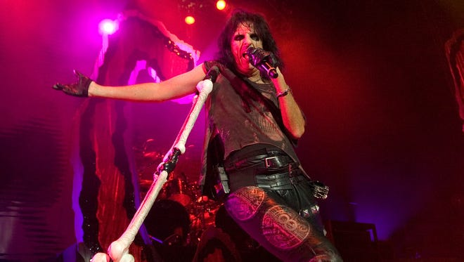 Alice Cooper performs at the York Fair on Thursday, September 17, 2009. He'll return to the grandstand stage this year on Friday, Sept. 7.