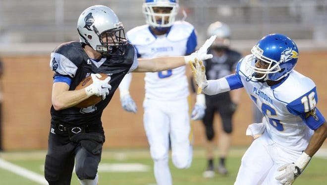 Robbinsville lost to Plymouth, 28-20, in Saturday's NCHSAA 1-A football championship game in Winston-Salem.