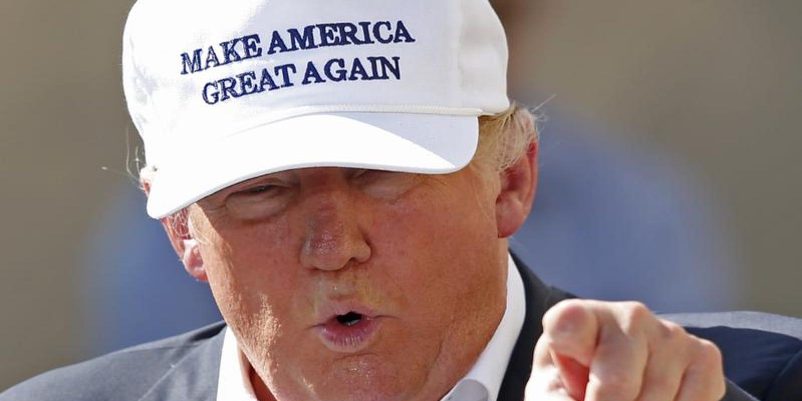 Trump S Make America Great Again Target Of Minority Satire