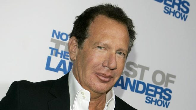 "In this April 10, 2007 file photo, actor Gary Shandling arrives at the wrap party and DVD release for ""The Larry Sanders Show"" in Beverly Hills, Calif. Dozens of paintings and other works of art from the estate of Shandling will be offered for sale at an art show in New Mexico this week"