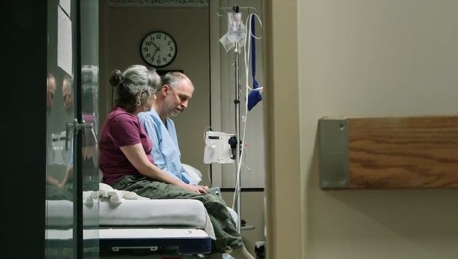 The final moments before surgery are shared in television commercial by the University of Rochester Medical Center/UR Medicine set to appear locally during Super Bowl XLI.