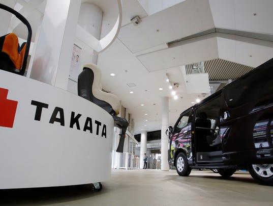 AP JAPAN TAKATA RECALLS F I JPN