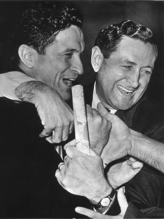 Al McGuire and Hank Raymonds -1965