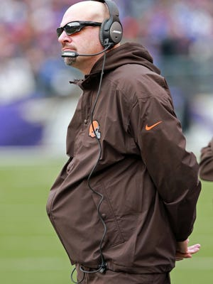 Cleveland Browns coach Mike Pettine will have a few tough decisions to make during the NFL draft.