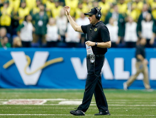 Ducks football coaching must improve to keep program for Christian helfrich