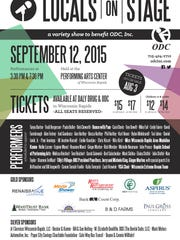 Locals on Stage is set for Sept. 12 and features many community members.