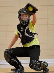 Senior Anna Dixon, a four-year varsity player, owns