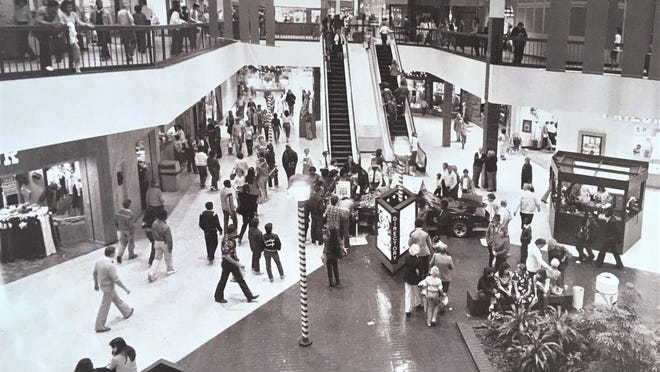Regency Mall opened as Georgia's largest in 1978.