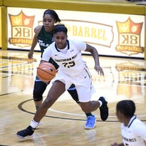Jayla King, Alarie Mayze contribute double-doubles in Southern Miss' win over MVSU
