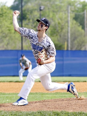 Mike Limoncelli pitched 6 1/3 shutout innings for Horseheads on May 18 in a 5-0 win over Elmira in a Section 4 Class AA semifinal at Horseheads High School.