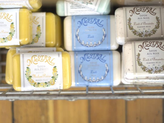 Mistral soaps at eden on East Sixth Street in the East
