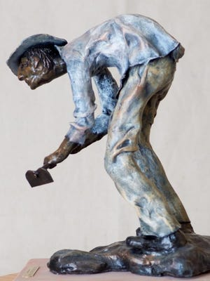 The work of local sculptor Diana LeMarbe will be on exhibit during the January show titled