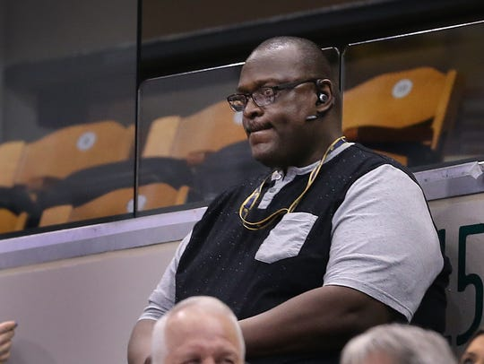 David Turner, father of Pacers rookie Myles Turner,