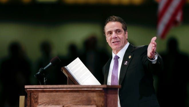 New York Gov. Andrew Cuomo has been sent a bill that would bring financial relief to counties and require the state to fund legal services.