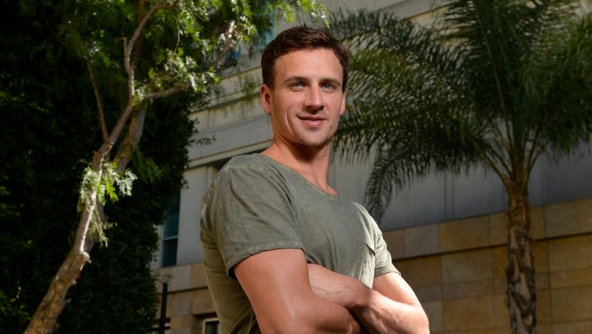 """Ryan Lochte appeared on  """"Dancing With The Stars"""" after returning from the Olympics in Rio."""