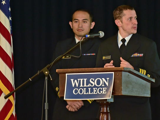 Andrew Kim, left, and Vincent Sansone, of Commissioned