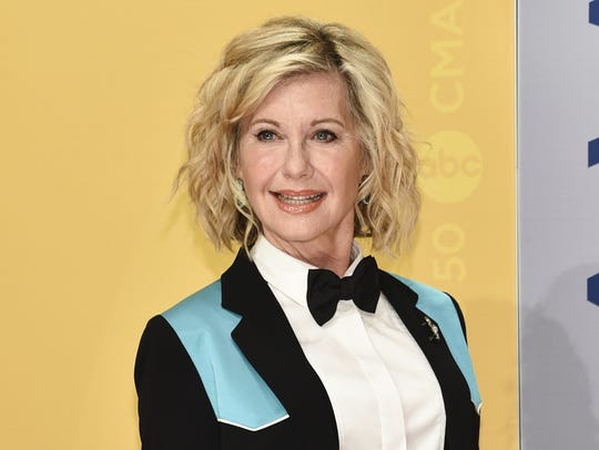 Olivia Newton-John attends the Country Music Association