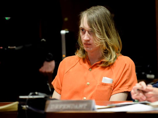 Austin F. Cooper, 21, of Willingboro appears in court