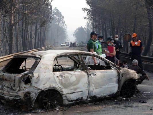 AP PORTUGAL FOREST FIRES I PRT
