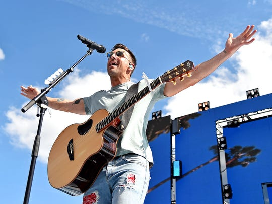Jake Owen's concert at FedExForum has been canceled.