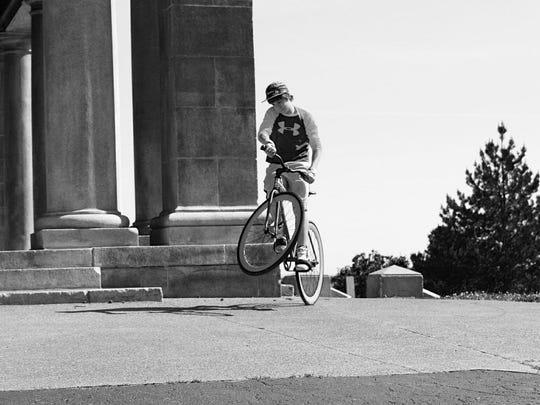 One of Max Glaser's Instagram bike photos.